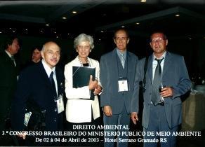 Daniela Sallet Producoes Substantivo Feminino Arquivo III Congresso Brasileiro do Ministerio Publico do Meio Ambiente Gramado 2003
