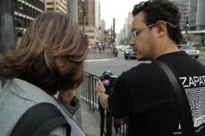 Daniela Sallet e Juan Zapata em São Paulo