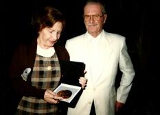Giselda Castro e Ernesto Premio Cidadã de Porto Alegre (1997)