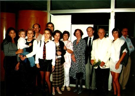 Giselda Castro e Família Prêmio Cidadã de Porto Alegre (1997)