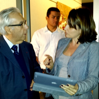 Paulo Affonso Leme Machado e Daniela Sallet